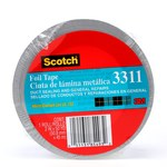 3M 3311 Aluminum Tape - 2 in Width x 50 yd Length - 3.6 mil Total Thickness - 85493