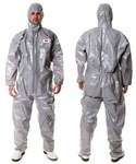 3M 4570 Gray Large Polypropylene/Polyethylene Protective Coverall - 046719-46841