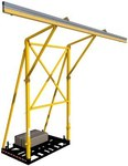 DBI-SALA FlexiGuard Yellow Counterweighted Fall Arrest System - 648250-16010