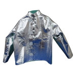 Chicago Protective Apparel Large Aluminized Para Aramid Blend Heat-Resistant Jacket - 30 in Length - 600-AKV LG