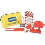 North Yellow Nylon Lockout/Tagout Kit - HONEYWELL LK111FE