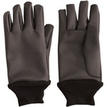 PIP Temp-Gard 202-1012 Black Large Silicone Heat-Resistant Glove - 12.5 in Length - 202-1012/L
