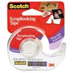 3M Scotch 001-CFT Clear Photo Tape - 3/4 in Width x 400 in Length - 59336