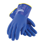 PIP 58-8658DL Blue Large Cotton Cold Condition Gloves - 12 in Length - PVC Foam Insulation - 58-8658DL/L