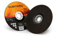 3M Cubitron II Ceramic Aluminum Oxide Cut & Grind Wheel - 36 Grit Very Coarse - 6 in Diameter - 7/8 in Center Hole - Thickness 1/8 in - 28758