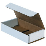 Oyster White Corrugated Mailer - 6 1/2 in x 3 1/4 in x 1 1/4 in - SHP-2527