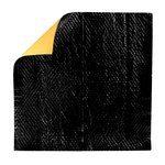 3M 08840 Black/Yellow - 500 mm Width x 500 mm Length x 1/16 in Thick - Sound Deadening Pads - 134375-38543