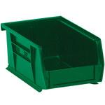 Green Hang Bin Boxes - 7.375 in x 4.125 in x 3 in - SHP-2922