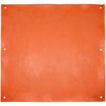 PIP Novax Orange Rubber Electrical Insulating Blanket - 36 in Length - 36 in Wide - Eyelet - 187-4