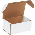 Shipping Supply Oyster White Outside Tuck Mailers - 7.625 in x 5.4375 in x 3.5625 in - SHP-2736