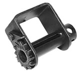 Lift-All Black Polyester Tie Down Weld-on Winch - 1/2 in Overall Length - 3/4 in Width - 61222