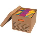 Kraft Economy File Storage Boxes - 12 in x 15 in x 10 in - SHP-2342
