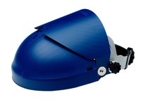 3M 82516-00000 Blue Thermoplastic Face Shield Headgear - Ratchet Adjustment - 078371-82516