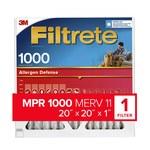 3M Filtrete 20 in x 20 in x 1 in 9802DC-6 MERV 11, 1000 MPR Air Filter - 09802