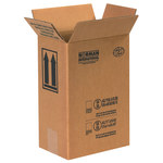 Shipping Supply Kraft 1 Gallon F-Style Paint Can Boxes - 8.1875 in x 5.6875 in x 12.375 in - SHP-2228