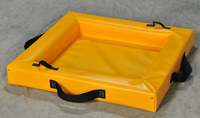 Eagle SpillNEST Yellow PVC 10 gal Spill Nest - 2 ft Width - 2 ft Length - 4 in Height - 048441-00612