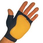 Impacto 501-20 Black/Yellow Large Grain Leather/Nylon/Spandex/Visco-Elastic Polymer Work Glove - 50120110040