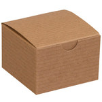 Kraft Colored Gift Boxes - 3 in x 3 in x 2 in - SHP-3356