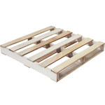 Shipping Supply Natural Wood Recycled Pallet - 36 in x 36 in - SHP-12698