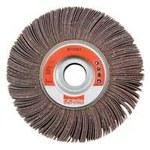 Dynabrade Coated Aluminum Oxide Flap Wheel - 1 in Face Width - 6 in Diameter - 1 in Center Hole - 78311