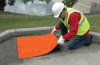 Sellars Orange Polyurethane Drain Seal - 24 in Width - SELLARS 92127