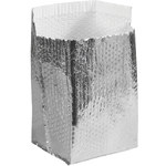 Shipping Supply Silver Insulated Box Liners - 6 in x 6 in x 6 in - 3/16 in Thick - SHP-13247