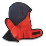 Jackson Safety 325 Blue Cotton Cold Weather Head & Neck Liner - Head & Neck Liner - Hook & Loop Fitting - 036000-14503