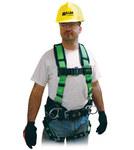 Miller 650CN Green Universal Vest-Style Back Padding, Shoulder Padding Body Harness - Polyester Webbing - 612230-18301