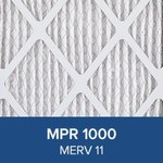 3M Filtrete Allergen Defense 12 in x 36 in x 1 in 9814DC-6 MERV 11, 1000 MPR Air Filter - 09814