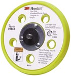 3M 18444 Disc Pad - 5 in DIA - 3/4 in Thick - M8 - 1.25 Internal Thread Attachment