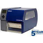 Brady Bradyprinter BP PR360X+ Desktop Label Printer - Single Color - 6.5 in Max Label Width - 3 in/sec - 300 dpi - BP-PR360+
