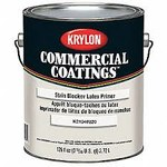 Krylon Commercial Coatings K2104 White Latex Paint Primer - 1 gal Pail - 00389