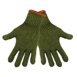 Global Glove S77RW Green Large Wool Cold Condition Gloves - S77RW/LG
