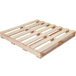 Shipping Supply Natural Wood Recycled Pallet - 42 in x 42 in - SHP-13010