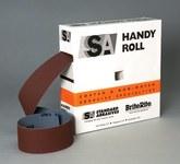 Standard Abrasives 706311 A/O Aluminum Oxide AO Shop Roll - J Weight - 1 1/2 in Width x 50 yd Length - 32902
