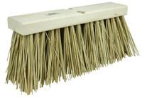 Weiler 702 Push Broom Head - Palmyra 6 1/4 in Bristle - 16 in Hardwood Block - 70208