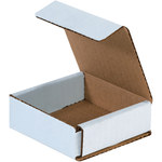 Oyster White Corrugated Mailer - 3 in x 3 in x 1 in - SHP-2477