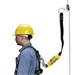 Miller 8174MLS Yellow Stainless Steel Manual Cable & Rope Grab - 4 ft Length - 612230-05181