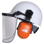 Jackson Safety H70 Orange Hard Hat Mounted Protective Earmuffs - 22 dB NRR - 761445-02856