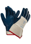 Ansell Hycron 27-607 Blue 9 Jersey Work Gloves - Nitrile Palm Only Coating - Rough Finish - 207302