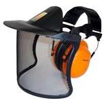 3M Peltor V40AH31A-1P Metal Mesh Face Shield & Headgear Set - 093045-93654