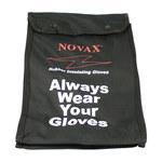 PIP Novax 148-21 Black Glove Bag - 13 in Length - 148-2136