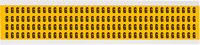Brady 15 Series 1500-G Black on Yellow Vinyl Letter Label - Indoor / Outdoor - 1/4 in Width - 3/8 in Height - 1/4 in Character Height - B-946