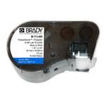 Brady M-113-490 Black on White Polyester Die-Cut Thermal Transfer Printer Cartridge - 2.2 in Width - 1 1/2 in Height - B-490