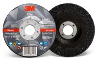 3M Silver Ceramic Depressed-Center Grinding Wheel - 4 1/2 in Diameter - 87453