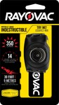 Rayovac Virtually Indestructible Black Headlamp - 180 Lumens White - (3) AAA 2 Modes - DIYHPHL-BC