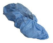 Epic Blue Large Cleanroom Shoe Covers - ISO Class 5 Rating - Polyethylene/Polypropylene Upper - 535223-L