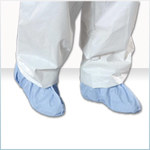 Alpha Pro Tech Critical Cover AquaTrak Blue Universal Disposable Shoe Covers - ALPHA PRO SH-91182-B UNV