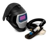 3M Speedglas 25-5802-10SW Welding Respirator - Assembly With Headpiece - Belt-Mounted - 051131-49830