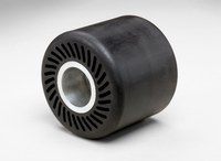 3M 3 1/2 in dia x 3 in width - Rubber Slotted Expander Wheel - 28349